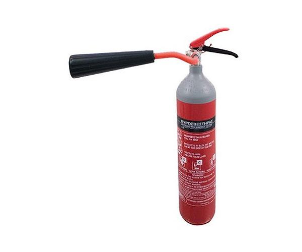 Πυροσβεστήρας CO2, 2kg
